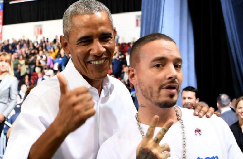 Barack Obama se declara una vez más fanático de J Balvin y del reggaetón