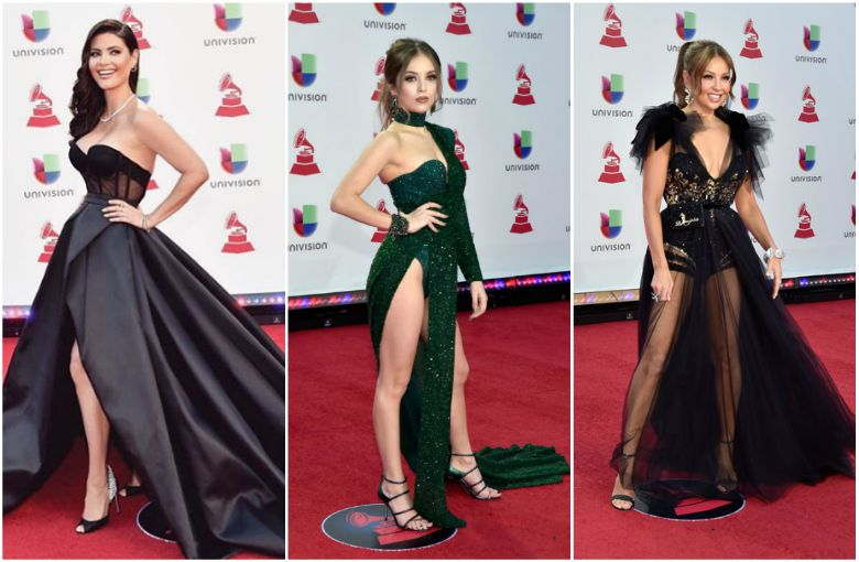 Ellas Son Las Mejores Vestidas De Los Latin Grammy 2018