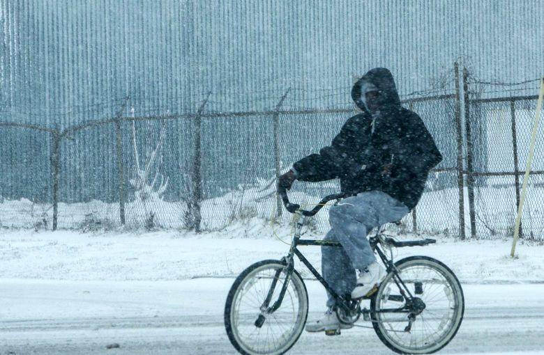 Mal tiempo en Michigan