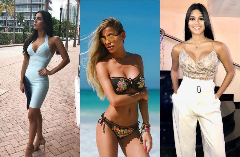 Candidatas latinas al miss universo