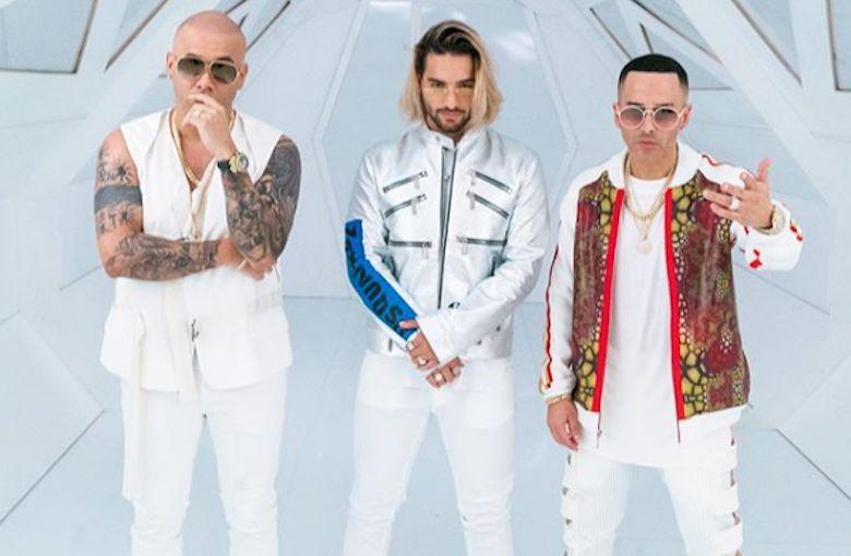 ¡El junte de la historia! Wisin, Yandel y Maluma estrenan 'La Luz' - VIDEO