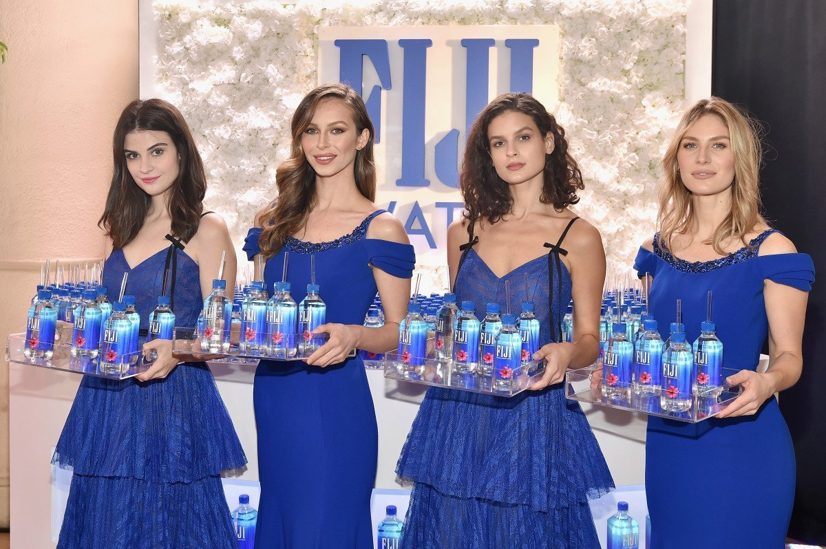Kelleth Cuthbert Fiji Water Girl