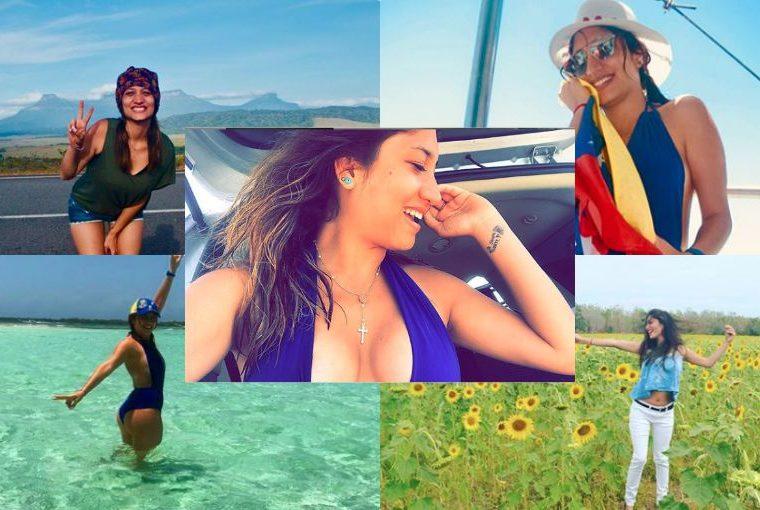 Oriana Valentina: la sexy venezolana agredida por el régimen de Maduro