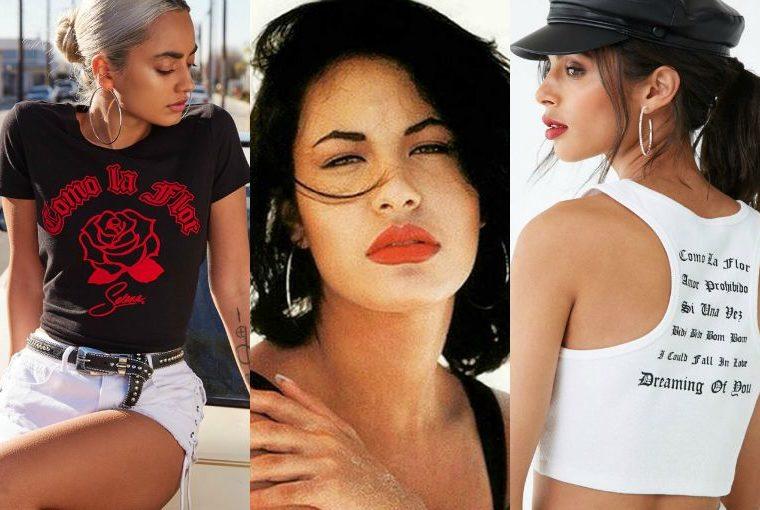 Selena Quintanilla revive en la nueva colección de Forever 21