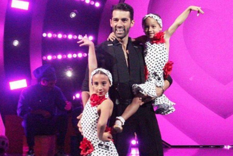 La pequeña Alaïa hereda el talento de su papi para el baile