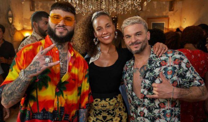 Alicia Keys canta 'Calma' con Farruko y Pedro Capó... ¡Nos encanta!