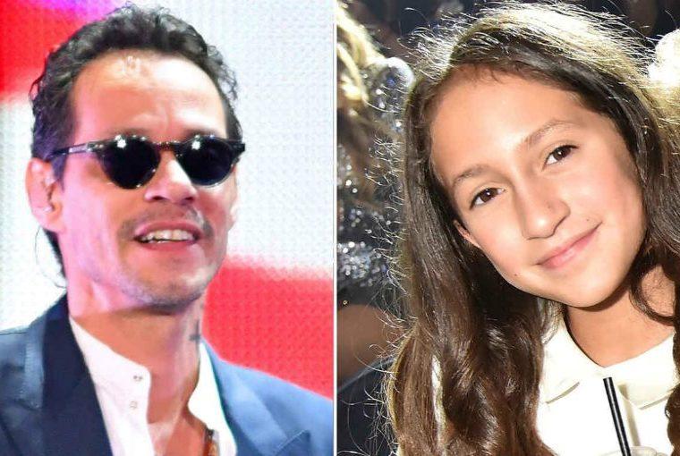 Marc Anthony habla del talento de su hija Emme para la música