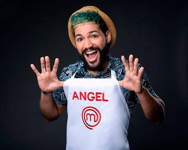 Angel en Masterchef Latino