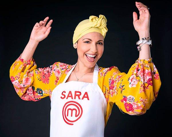 Sara en Masterchef Latino
