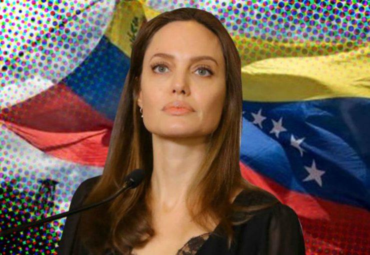 Angelina Jolie realiza viaje sorpresa a frontera entre Colombia y Venezuela