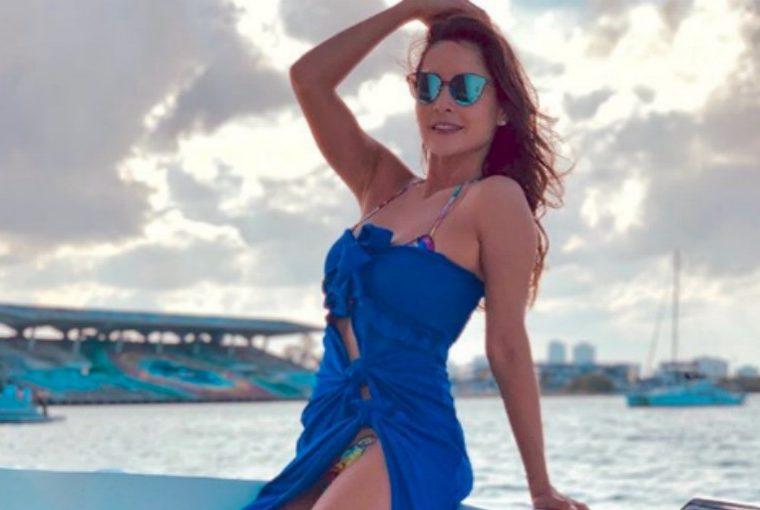 Carmen Villalobos infarta a sus fanáticos con su cuerpazo en bikini