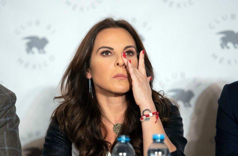 ¡Por segunda vez! Kate del Castillo pisó México tras su lío con la justicia