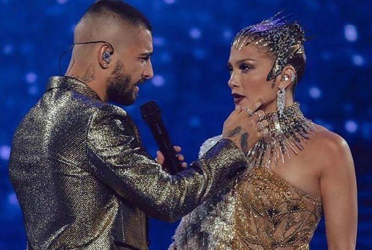 ¿Nace un amor? Así fue el encuentro entre Jennifer Lopez y Maluma
