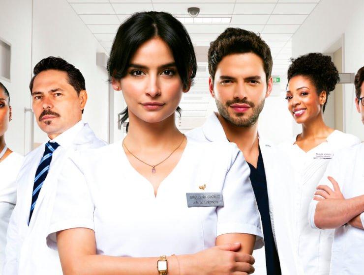 Elenco Enfermeras serie rcn