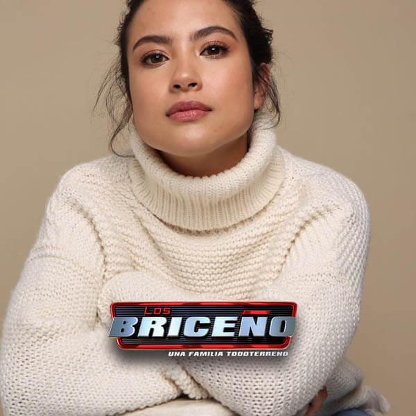 Katherine Escobar Farfán es La Chiqui en Los Briceños