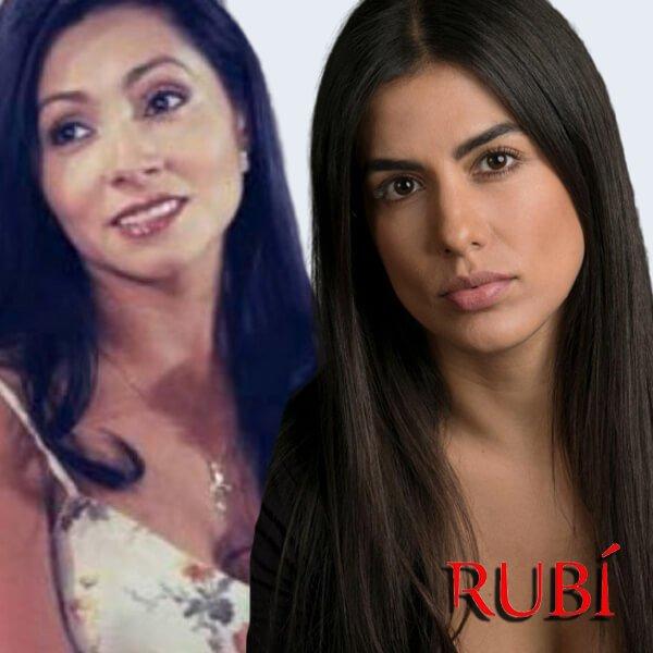 Tania Lizardo es Cristina Rubí 2020