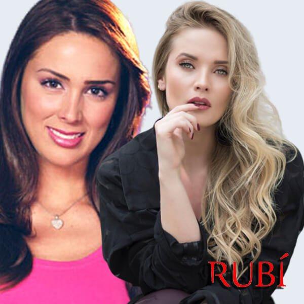 Kimberly Dos Ramos es Maribel Rubí serie
