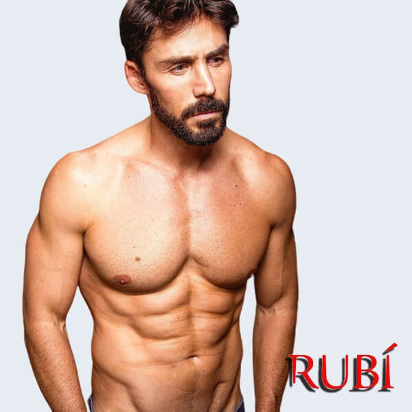 Rubén Sánz es Eduardo Rubí 2020