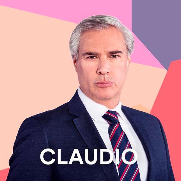 Gerardo Murguía es Claudio Reyes Alonso
