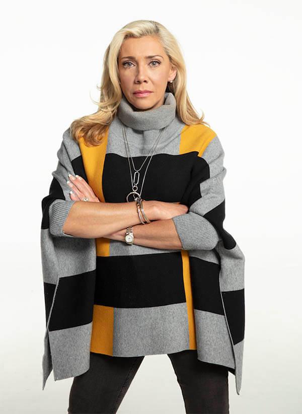 Cynthia Klitbo es Dora Perdomo de Garza