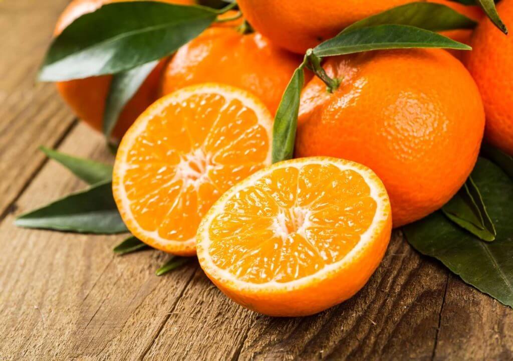 Naranjas para combatir la piel grasa