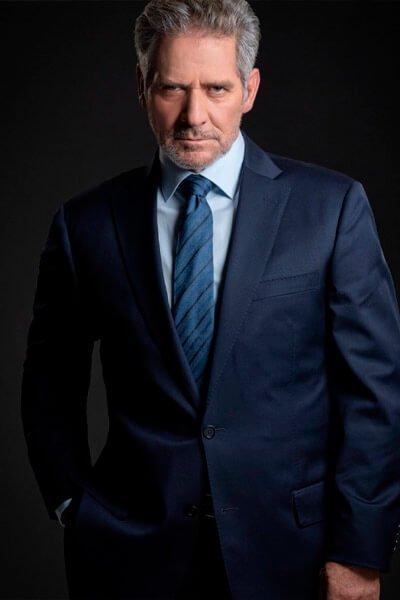 Leonardo Daniel es David Gómez enemigo intimo dos serie telemundo segunda temporada