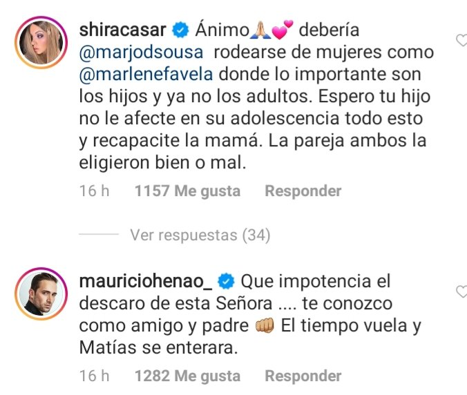 Famosos se lanzan contra Marjorie de Sousa y defienden a Julián Gil