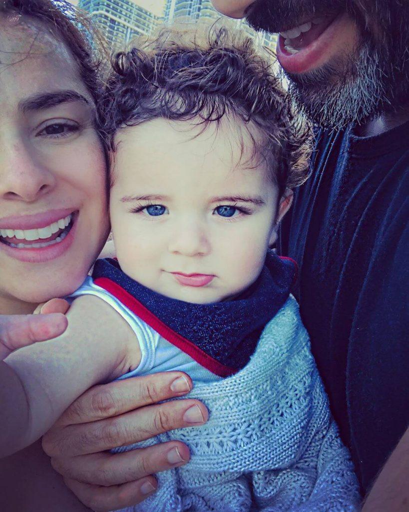 Danna García vivió momentos de tensión con su hijo