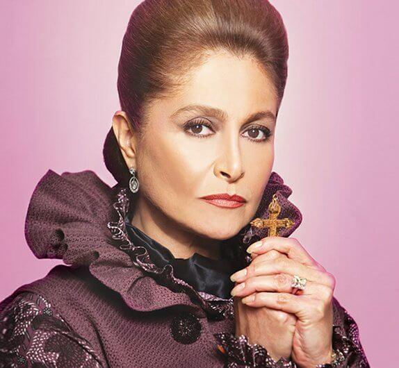 Daniela Romo como Bernarda Montejo viuda de Iturbide