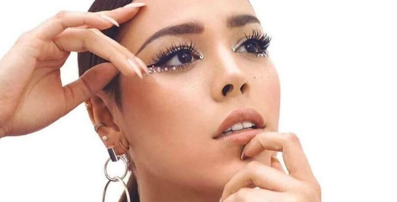 Danna Paola. Maquillaje