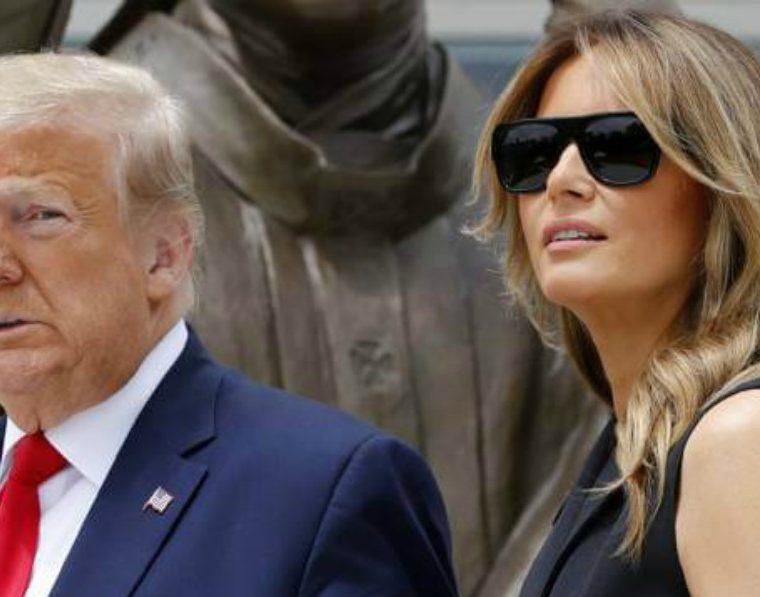 Melania y Trump