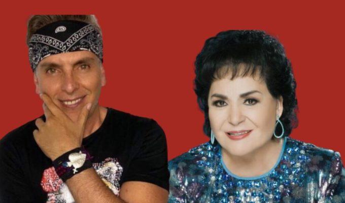 Carmen Salinas y Xavier Ortiz