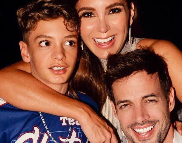 William Levy y Elizabeth Gutiérrez junto a su hijo