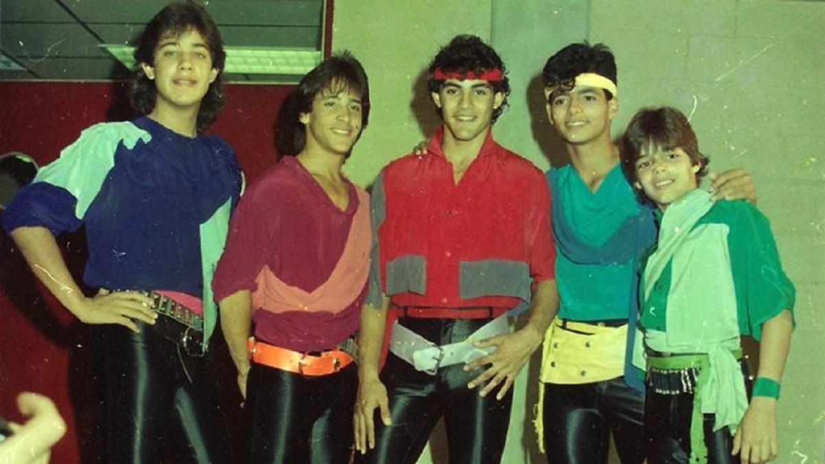 Menudo, agrupación de adolescentes que causó furor a partir de 1977.