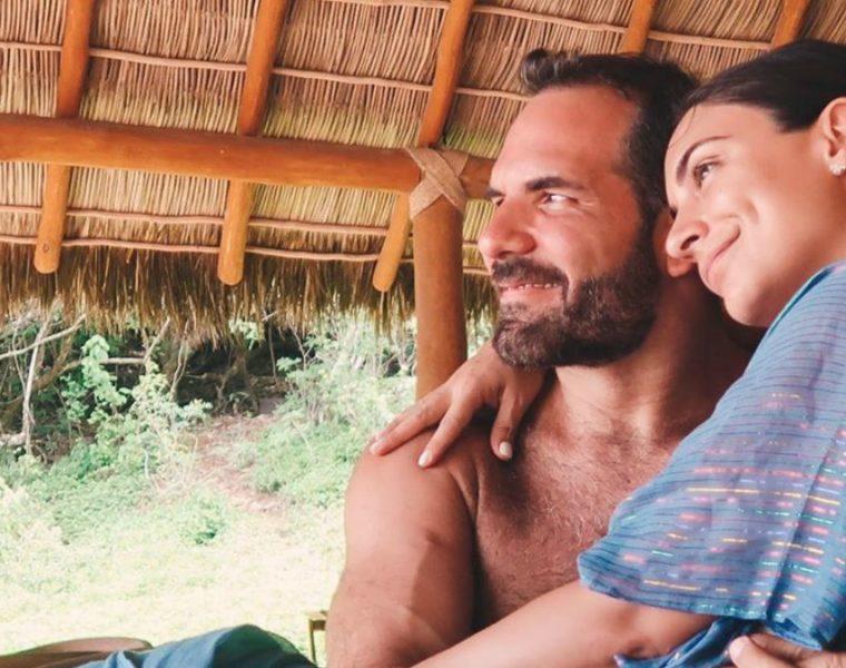 Ana Brenda Contreras y su novio
