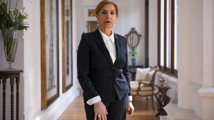 Rosa María Bianchi es Ana Cecilia Dávila viuda de Carranza Monarca