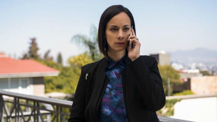 Gabriela de la Garza es Jimena en Monarca la serie
