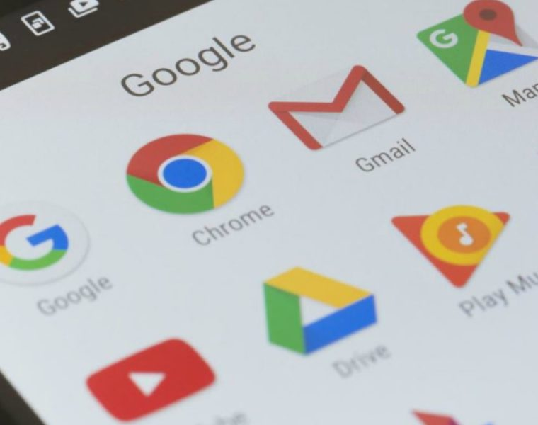 Caída Google