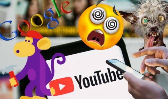 Google y Youtube caida