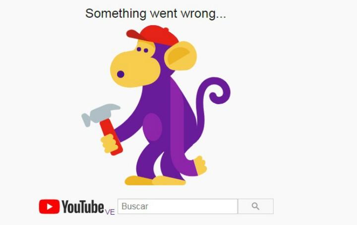 Youtube caida