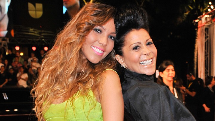 Alejandra Guzman y Frida Sofia