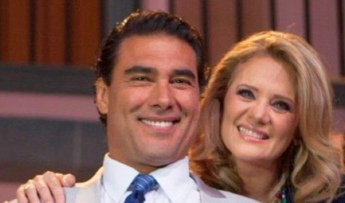 Eduardo Yánez y Erika Buenfil