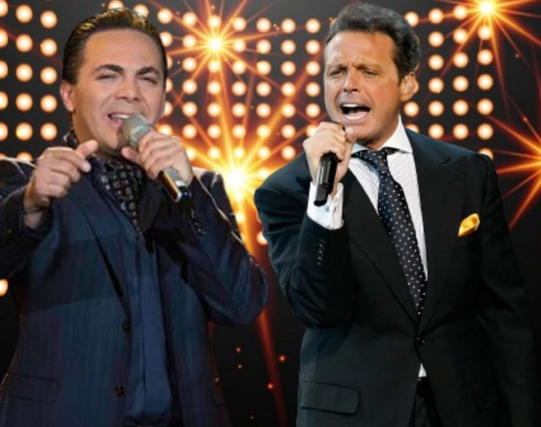Cristian Castro y Luis Miguel