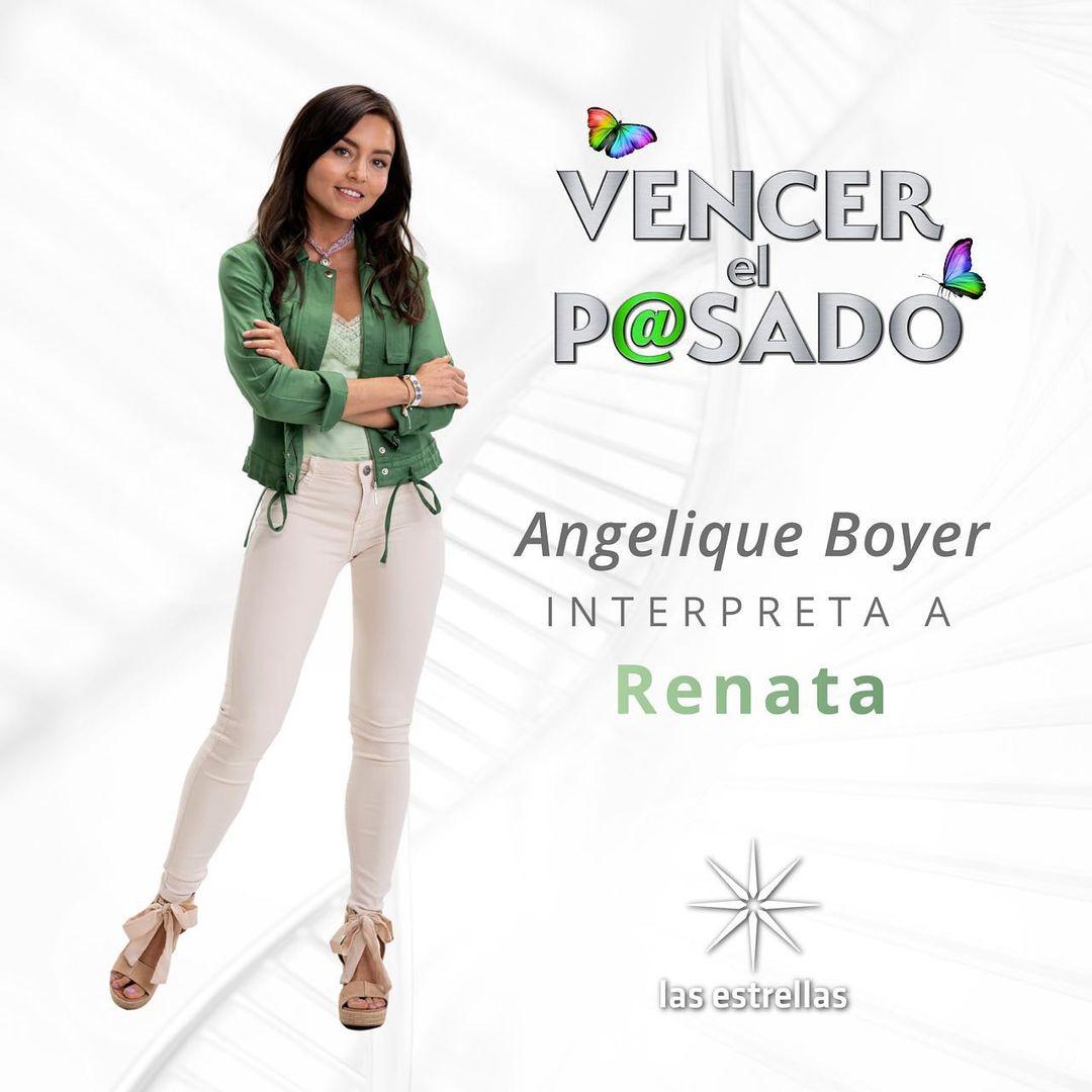 ¿En qué se parece Angelique Boyer a su personaje en Vencer el pasado?