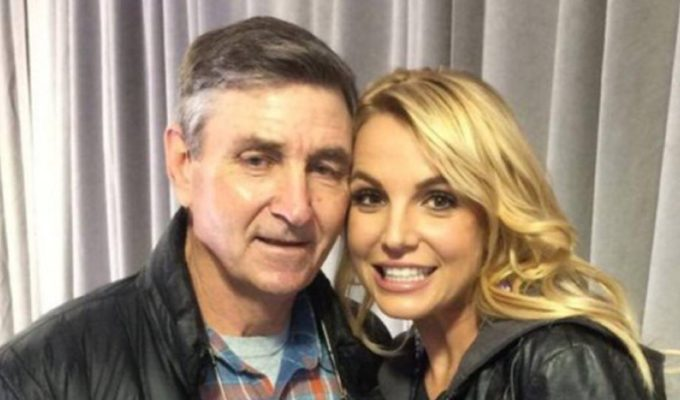 Britney Spears y su padre 1