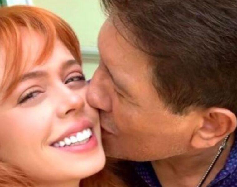 Eva Daniela y Juan Osorio