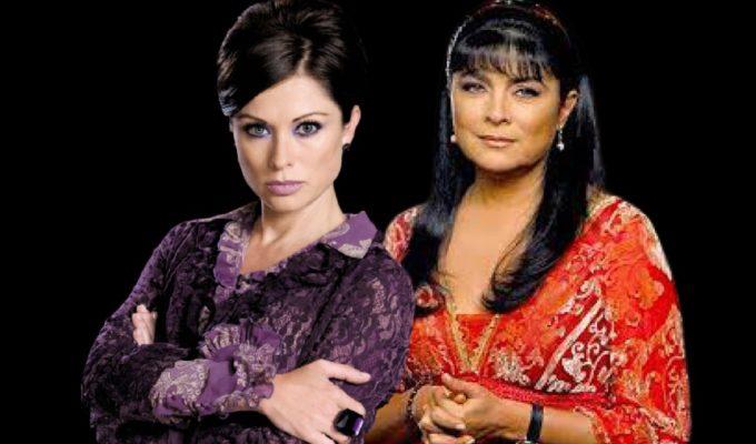 Leticia Calderón y Victoria Ruffo