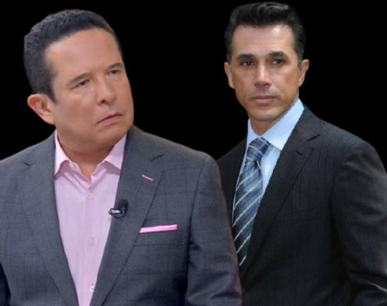 Sergio Mayer y Gustavo Adolfo Infante