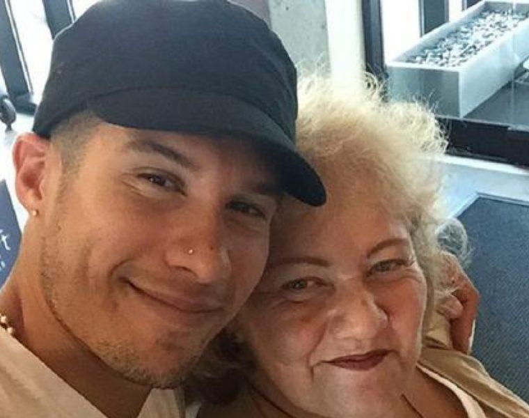 Chyno Miranda y su mamá