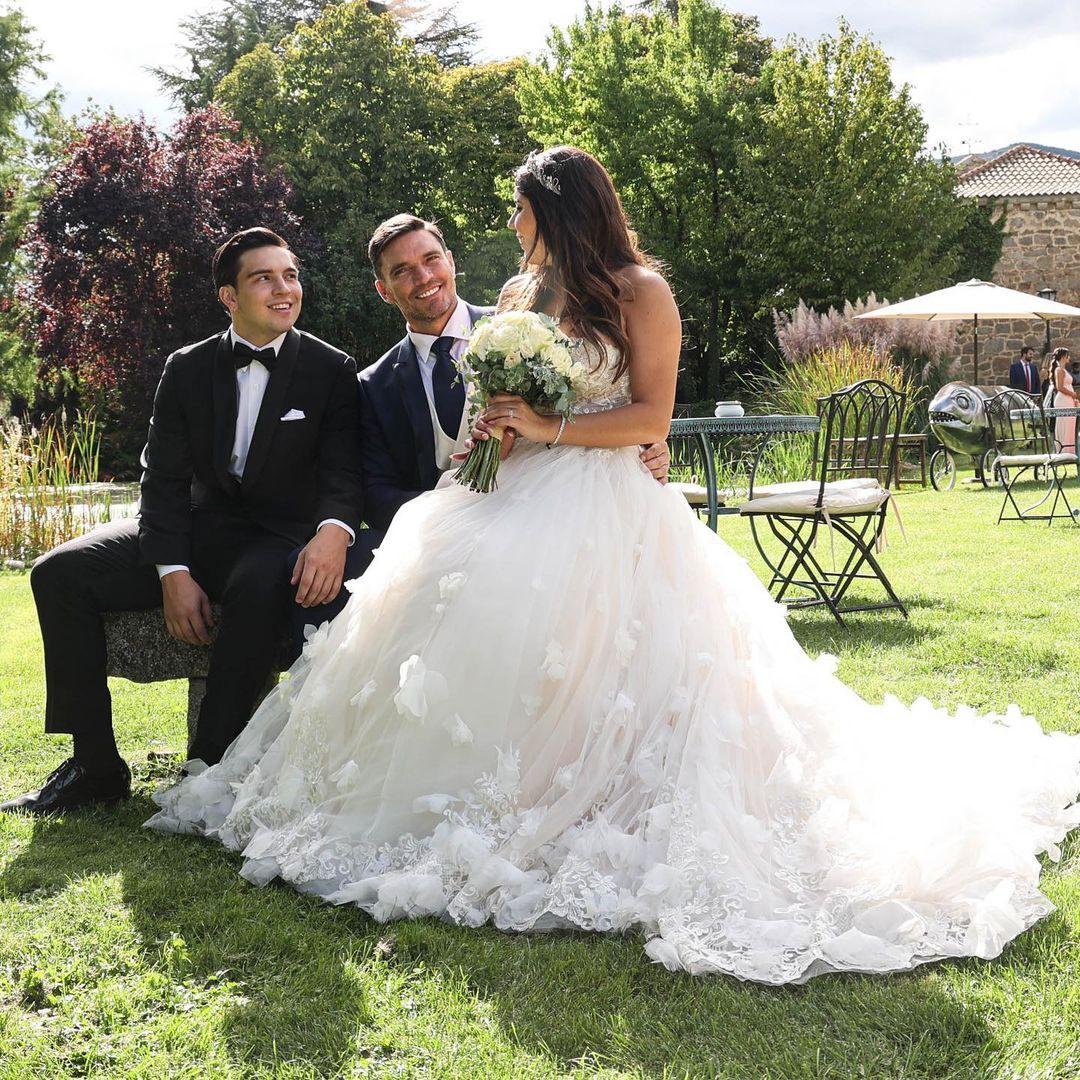 La hija de Julián Gil se casó ¡Mira las fotos de la ceremonia!